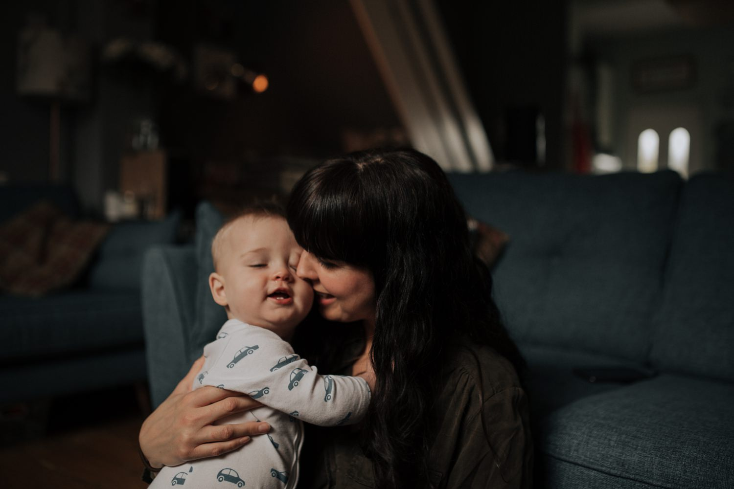 Love between a mom and her son in Manchester