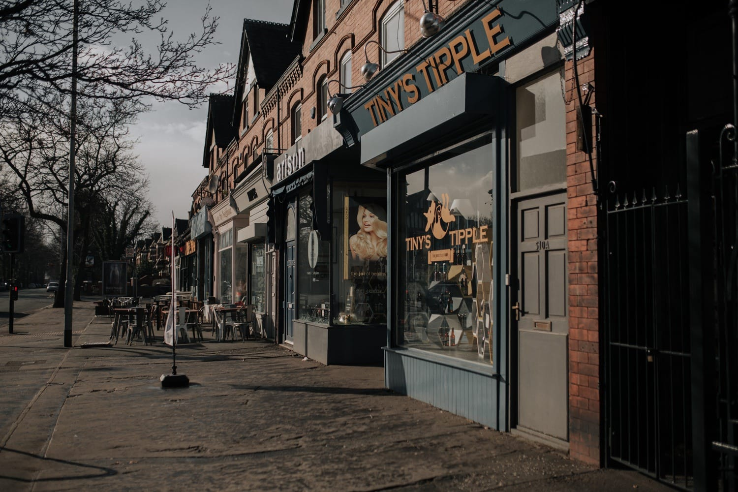 Shops on Chorlton streets