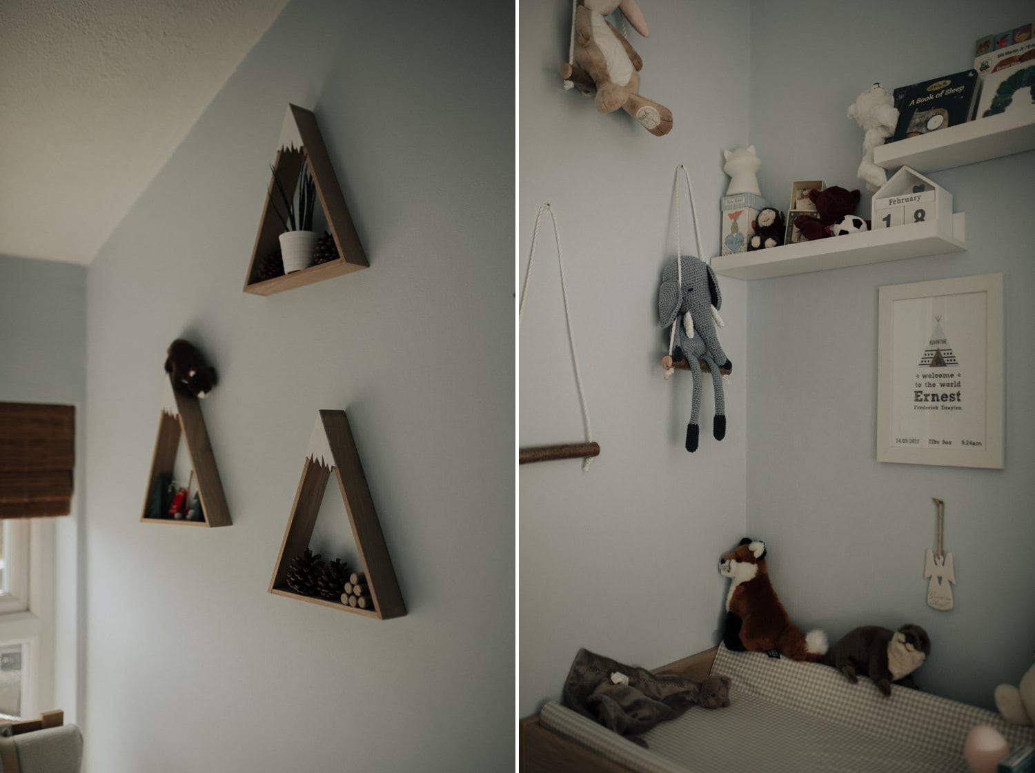 Baby boy bedroom decoration idea