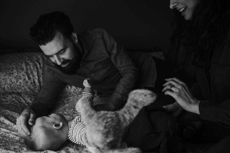 Newborn lifestyle photoshoot in Manchester