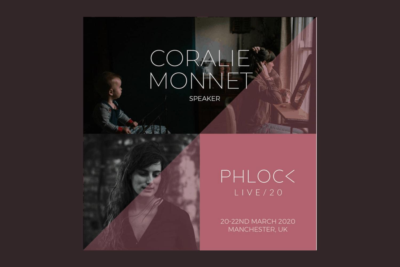phlock live Coralie Monnet